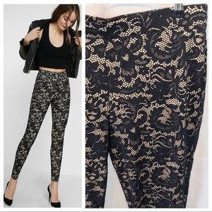 NWT | Express Floral Lace Legging